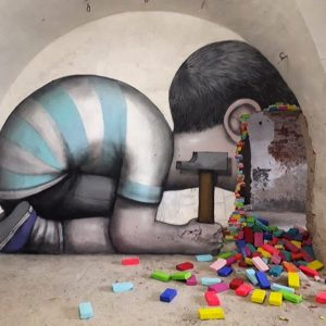 Street art au MAUSA à Neuf-Brisach