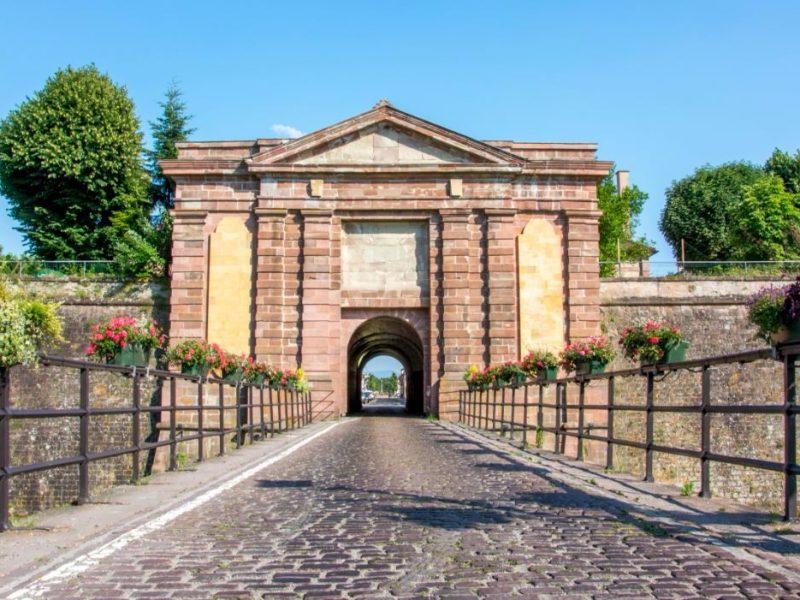 Porte de Colmar à Neuf-Brisach
