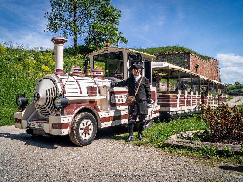Guide avec petit train touristique Neuf-Brisach